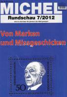 MICHEL Briefmarken Rundschau 7/2012 Neu 5€ New Stamps Of The World Catalogue And Magacine Of Germany - Passatempi Creativi