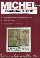 MICHEL Briefmarken Rundschau 9/2012 Neu 5€ New Stamps Of The World Catalogue And Magacine Of Germany - Kreative Hobbies