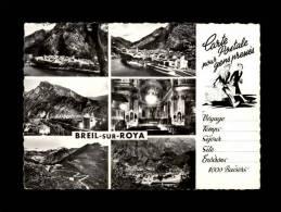 06 - BREIL-SUR-ROYA - Carte Postale Pour Gens Pressés - Vues Générales - Col De Brouïs - 532 - Breil-sur-Roya