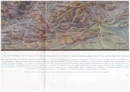 Guerre 14-18  Militaria  Grande Carte  Militaire Vue Panoramique Rhin Entre Schaffousse Et La Frontiere  Hollande - Maps
