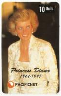 PRINCESS DIANA PHONECARD  AUSTRALIA NO. 42, 1997. LIMITED EDITION OF 5000 - Phonecards