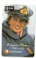 PRINCESS DIANA PHONECARD  AUSTRALIA NO. 37, 1997. LIMITED EDITION OF 5000 - Phonecards