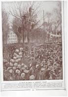 BREST Guerre 14-18   De Brest    ET  President Wilson  + Son Arrivée Par La Mer  A Brest - Maps