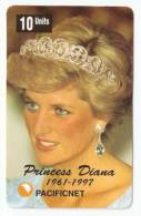 PRINCESS DIANA PHONECARD  AUSTRALIA NO. 16, 1997. LIMITED EDITION OF 2000 - Other