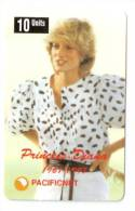 PRINCESS DIANA PHONECARD  AUSTRALIA NO. 7, 1997. LIMITED EDITION OF 2000 - Phonecards