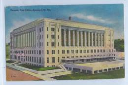 GENERAL POST OFFICE, KANSAS CITY, Mo - Kansas City – Kansas