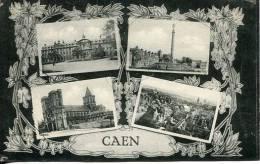 N°26240 -cpa Caen -multivues- - Caen