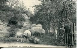 N°26242 -cpa Vieux Pont -chemin Du Plessis- - Frankreich