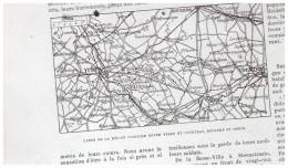 Guerre 14-18  L Avance Franco Britanniques  31 Juillet  1917  D Ypres    Warneton Zwartetem Hollebeke Bixschoote - Maps