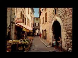 06 - VENCE - Cité Des Peintres - Porte De L´Evéché Et Vieille Rue - A 703 - Vence