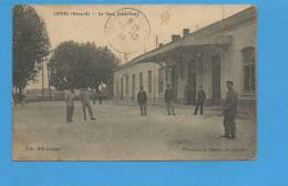 34 LUNEL : La Gare (extérieur) - Lunel