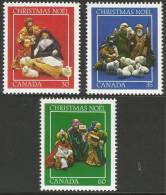 Canada. 1982 Christmas. Nativity Scenes. MH Complete Set - 1952-.... Reign Of Elizabeth II