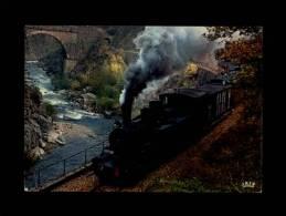 """07 - """"Le Mastrou"""" Petit Train Touristique Dans La Vallée Du Doux - 2530 - France"""