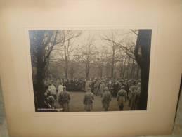 PHOTO MANIFESTATION PATRIOTIQUE 2 NOV 1921, Dim: 173x230, Photographe: D.RUHRORT. (PH14) - Krieg, Militär