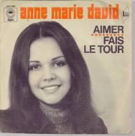 """45 Tours SP - ANNE MARIE DAVID   - EPIC 1199 -  """" FAIS LE TOUR """" + 1 - Vinyl Records"""