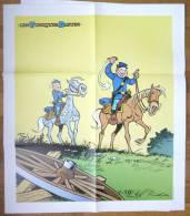 POSTER LES TUNIQUES BLEUES - LAMBIL & CAUVIN - HACHETTE COLLECTION 2011 - Affiches & Posters
