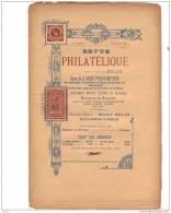 BELGIQUE, Revue PHILATELIQUE N°7 1896, éditeur MAURICE BELIN. - Magazines