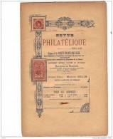 BELGIQUE, Revue PHILATELIQUE N°6 1896, éditeur MAURICE BELIN. - Magazines