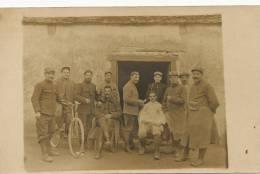 Guerre 1914 WWI Carte Photo Coiffeur Barbier Du 113 Eme Barber Hairdresser Real Photo - Oorlog 1914-18