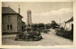988 Chalonvillars  Veue Sur Le Village Et Monument Aux Morts - France