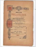 BELGIQUE, Revue PHILATELIQUE N°11 1896, éditeur MAURICE BELIN. - Magazines