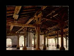 11 - FANJEAUX - L'Intérieur Des Vieilles Halles - Autres Communes