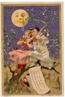 Chromo Au Bon Marché : Pierrot, Au Clair De La Lune ... - Au Bon Marché
