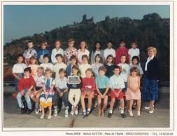 PHOTO DE CLASSE  38 VIENNE école St CHARLES  Classe De CM1 1987- 1988 - B2 - Photographs