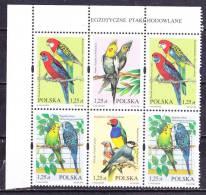 Pappagalli  Polonia 2004- MNH** - Parrots
