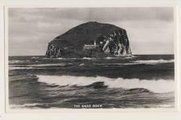 The Bass Rock - RPPC - Berwickshire