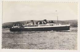Shipping - D.E.V. Loch Fyne - RPPC - Steamers