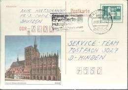 ALEMANIA DDR ENTERO POSTAL BERTHOLDT MAT BAUTZEN - [6] República Democrática