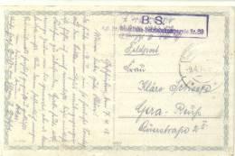 Feldpost 1.WK  1918 KGL. PR. EISENBAHN-BETRIEBSKOMPAGNIE Nr. 89 - Deutschland