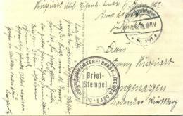 FELDPOST 1.WK  BETRIEBSWERKMEISTEREI BREST-LITOWSK OST I  1916 MED 6 - Deutschland