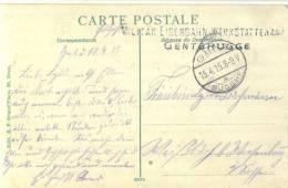 Feldpost 1.WK  MILITÄR-EISENBAHN-WERKSTÄTTENAMT GENTBRUGGE 1915 - Deutschland