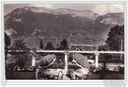 CPSM    HOTEL  ROBINSON - SEVRIER - Lac D´Annecy (74) Un Coin De La Terrasse De L´hotel - Annecy