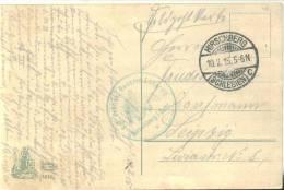 Feldpost 1.WK  KGL. PREUSS. RESERVE-LAZARETT HIRSCHBERG I. SCHL. 1915 - Deutschland