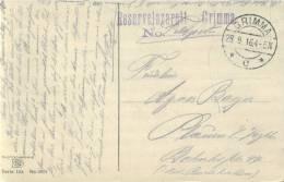 Feldpost 1.WK  RESERVELAZARETT GRIMMA 1916 - Deutschland
