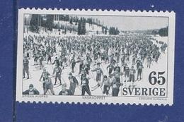 SKIING Skifahren VASA SKI RACE VASALAUF  SWEDEN SUEDE SCHWEDEN 1973 MNH MI 794 Slania - Ski