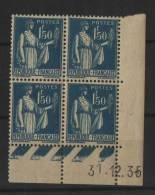 RFrance Coin Daté 1935 N°288** Côte 3,50 Euros - Dated Corners