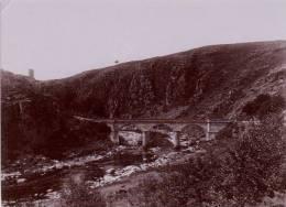 23 Creuse Crozant Pont  PHOTO 1910 - Crozant
