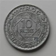 1 Piece 10 Francs Maroc - Maroc
