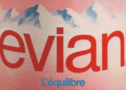 EVIAN...L EQUILIBRE................ ........1CP NEUVE 10.5 X 15 - Advertising
