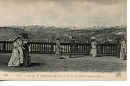 PAU - Vue Sur La Chaine Des Pyrénées Et Le Pic Du Midi D'Ossau - Très Bon état - Pau
