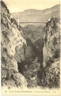 73/CPA - Le Pont De L'Abime (env. Aix Les Bains) - France