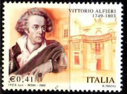PIA - ITALIA - 2003 : 200° Della Morte Di Vittorio Alfieri    - (SAS  2712) - 2001-10: Mint/hinged