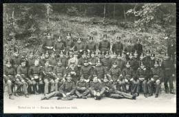 CPA. Bataillon 18. Cours De Répétition. - Postkaarten