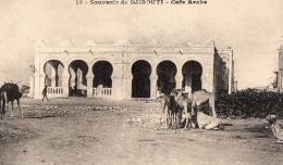 DJIBOUTI - Souvenir De Djibouti - Café Arabe - Gibuti