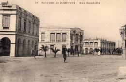DJIBOUTI - Souvenir De Djibouti - Rue Gambetta - Gibuti