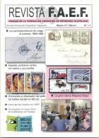 REVISTA FAEF MARZO DEL 2011 LA CORRESPONDENCIA DE CARGO AL EXTERIOR 1889-1908 ESPAÑA PRIMERAS CARTAS SIN SELLOS Y SUS TA - Tijdschriften